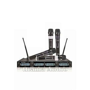 jual harga termurah anysing_mc889w mic wireless karaoke uhf 4 channel