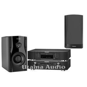 jual paket high-end stereo marantz pm5005 dan cd5005 Definitive Technology StudioMonitor 45 loudspeaker harga termurah