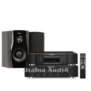 jual paket high-end stereo marantz pm5005 dan cd5005 Definitive Technology StudioMonitor 45 loudspeaker termurah