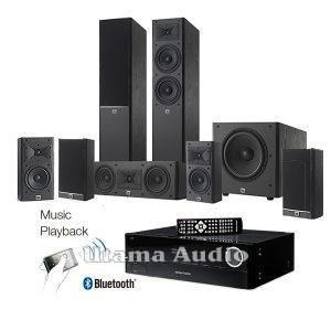 Jual amplifier paket home theater harman kardon JBL arena-180 harga murah indonesia
